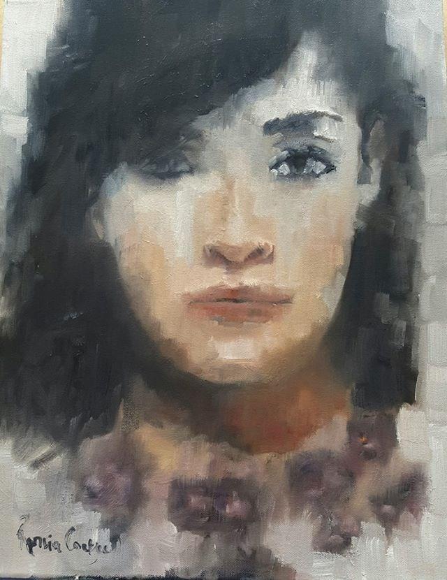 """Half monochrome"" original fine art by Rentia Coetzee"