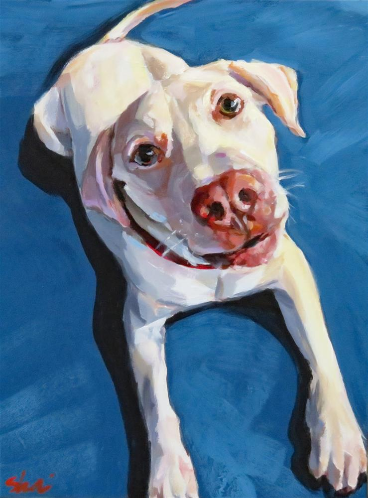"""Doggone Adorable"" original fine art by Shari Buelt"