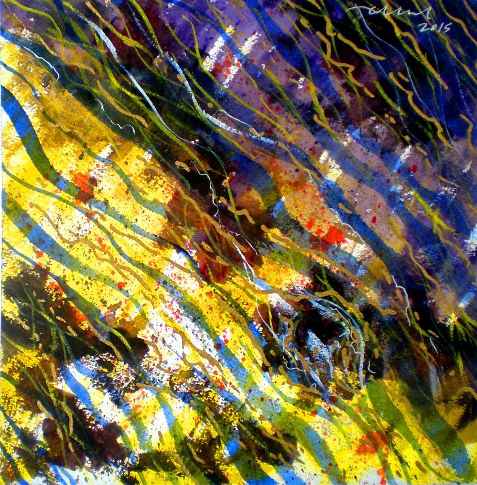 """Liquid Abstract #4 - 150824-4"" original fine art by richard rochkovsky"