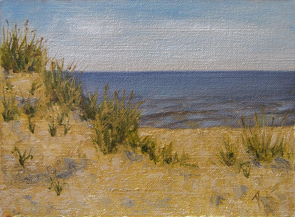"""Morning near the Lake June 2016"" original fine art by Rachel Steely"