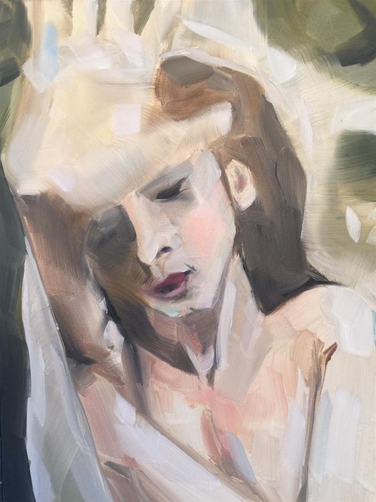 """367 All Night Long"" original fine art by Jenny Doh"