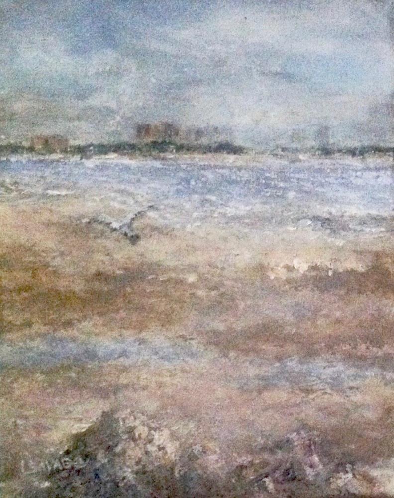 """Tide's Out, Bunch Beach"" original fine art by Judy Usavage"