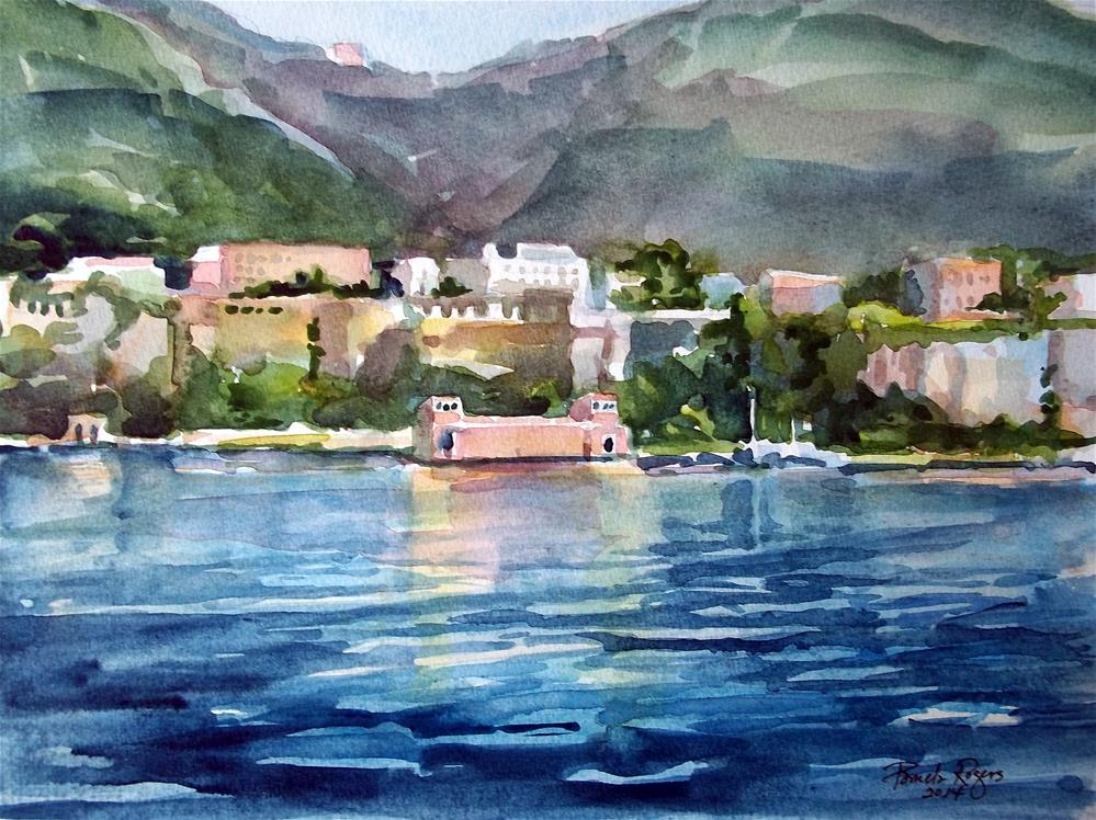 """Sorrento Afternoon"" original fine art by Pamela Jane Rogers"