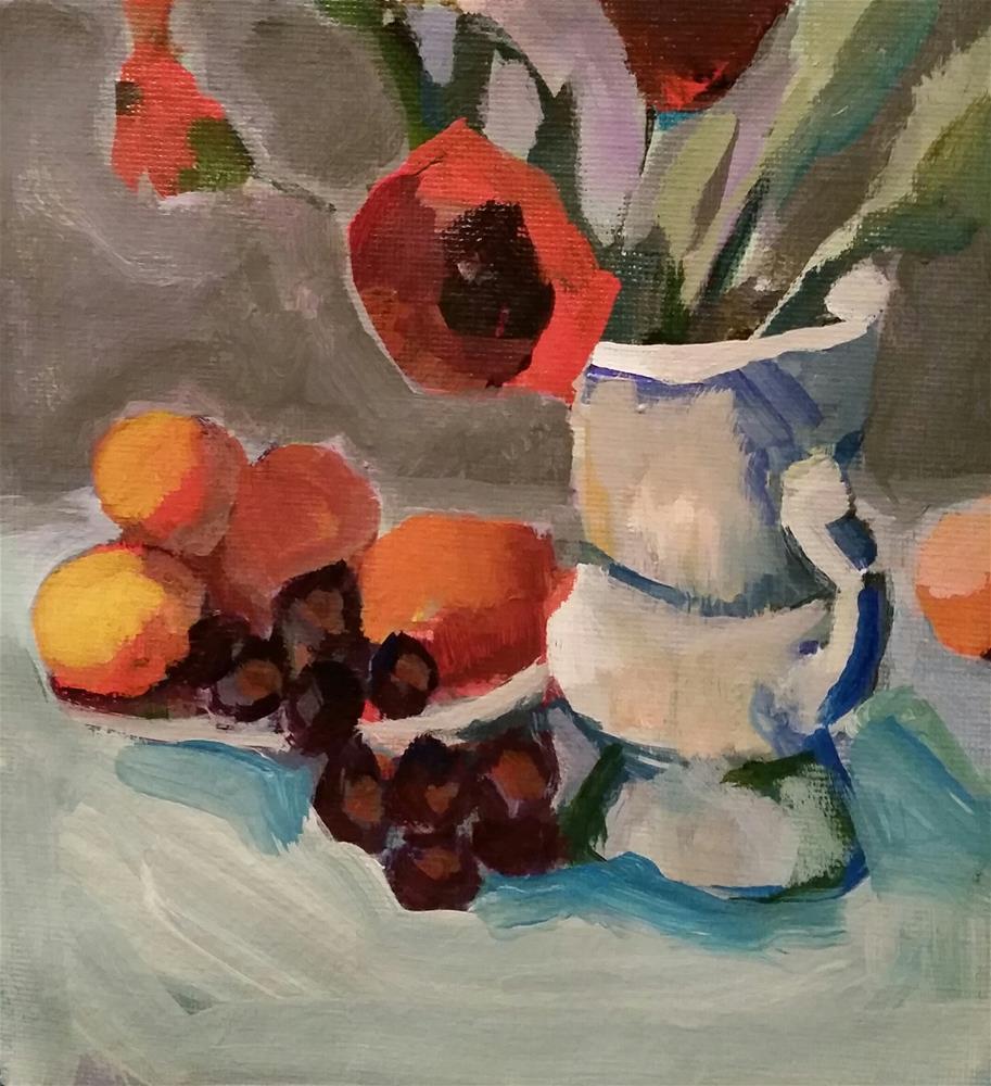 """Still Life Challenge"" original fine art by Liz Maynes"