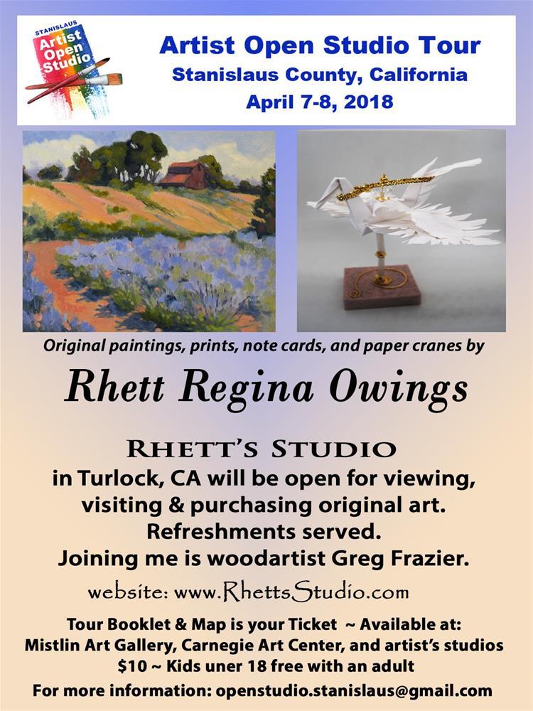 """Open Studio 2018"" original fine art by Rhett Regina Owings"
