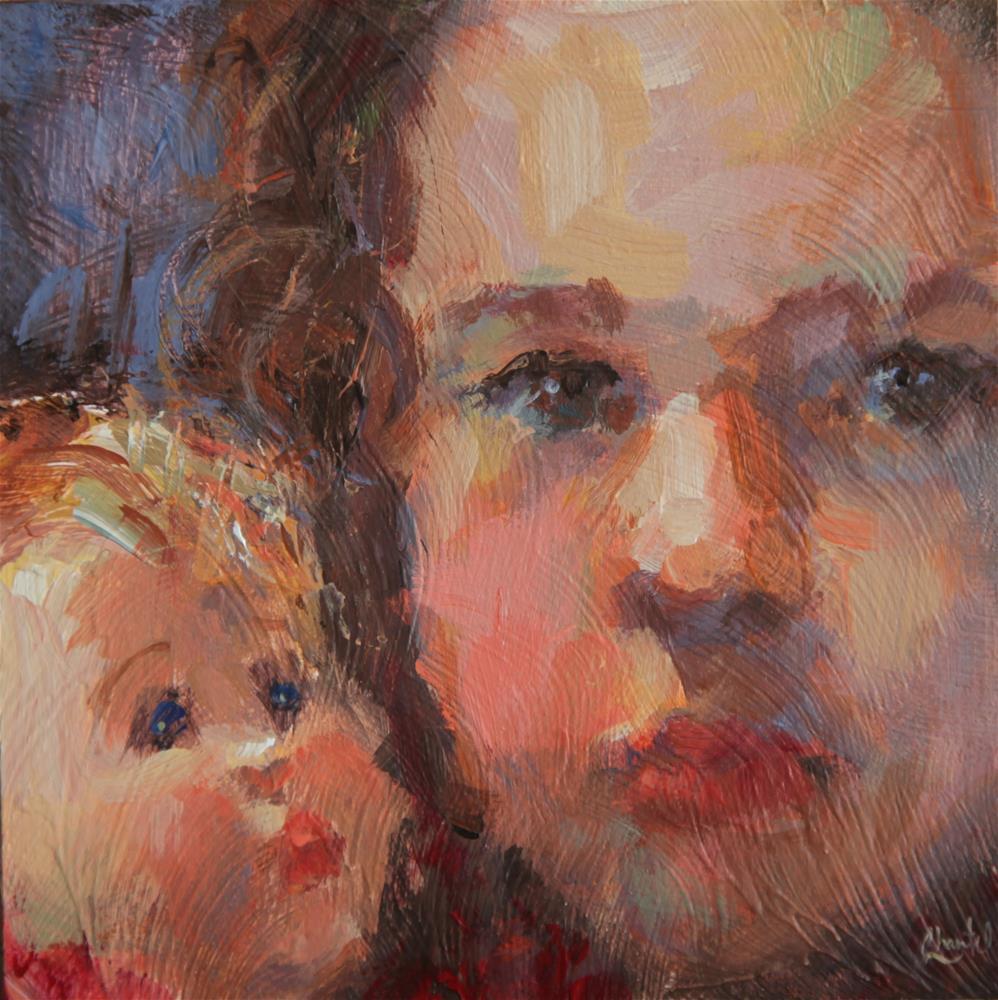 """Mine To Love"" original fine art by Chantel Barber"