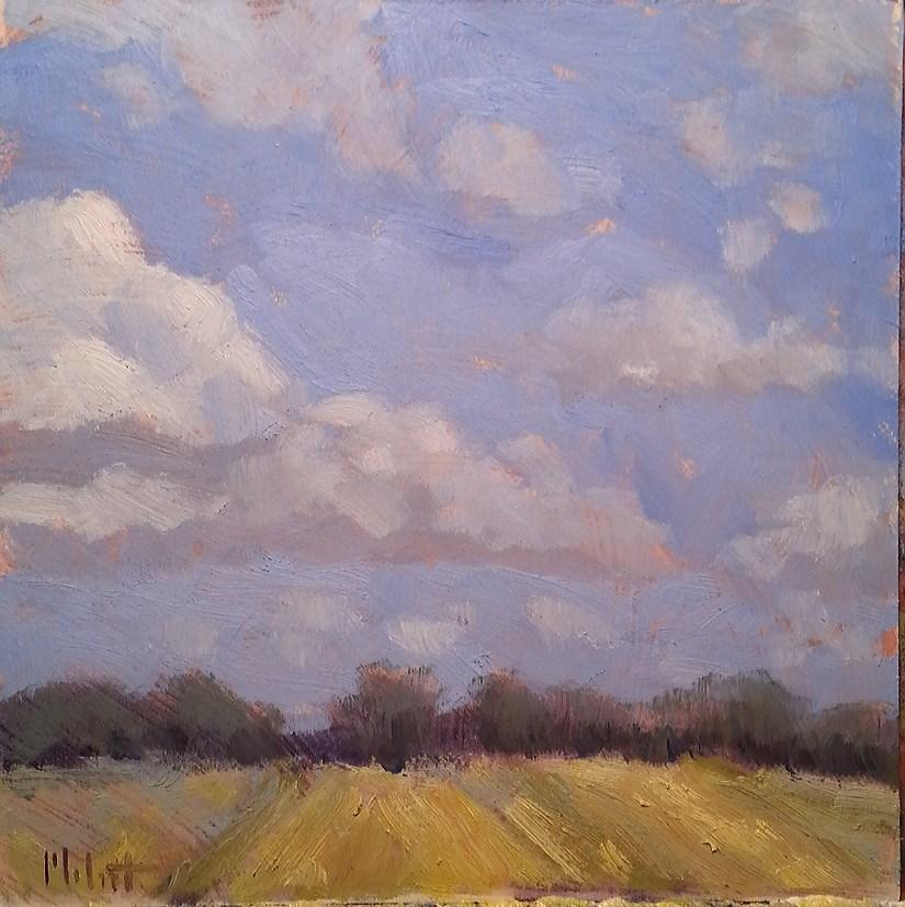 """Autumn Painting Ready for Harvest original oil"" original fine art by Heidi Malott"