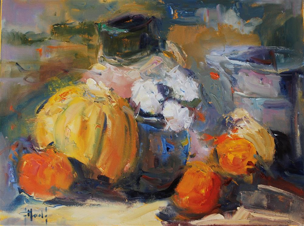 """Color of Fall 2"" original fine art by Deborah Harold"