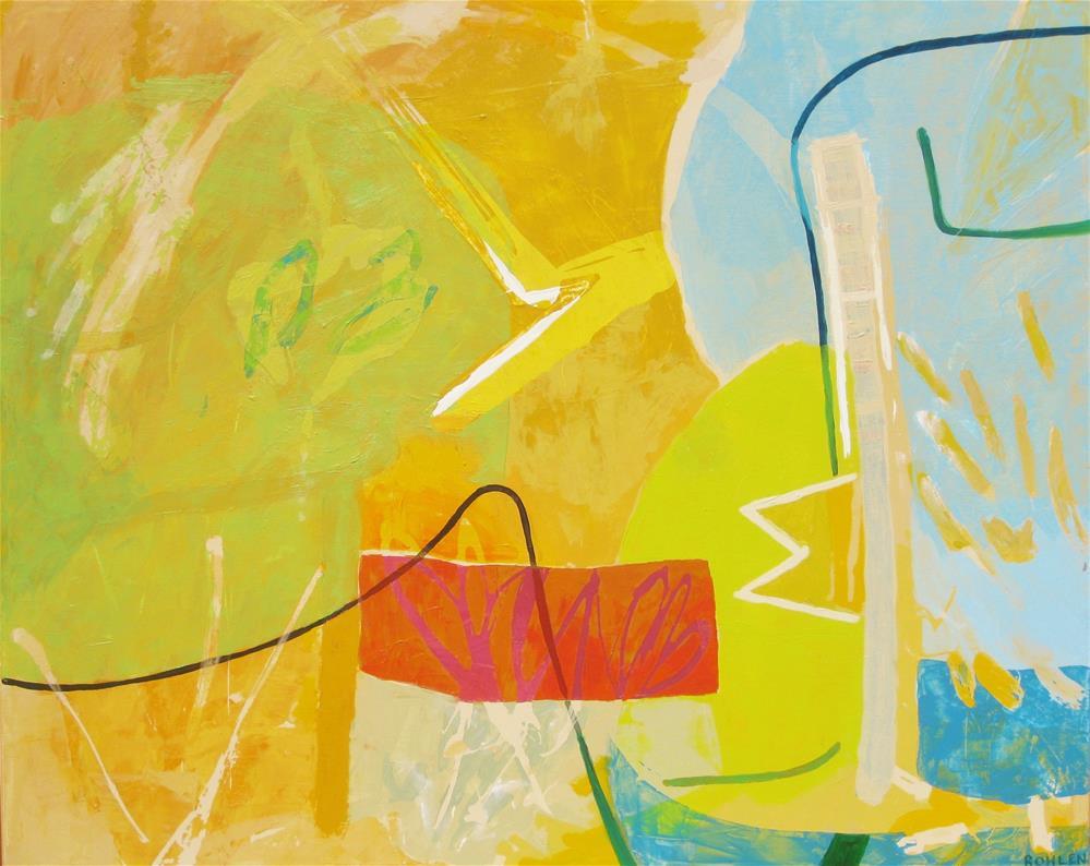 """""""Neptune"""" original fine art by Priscilla Bohlen"""