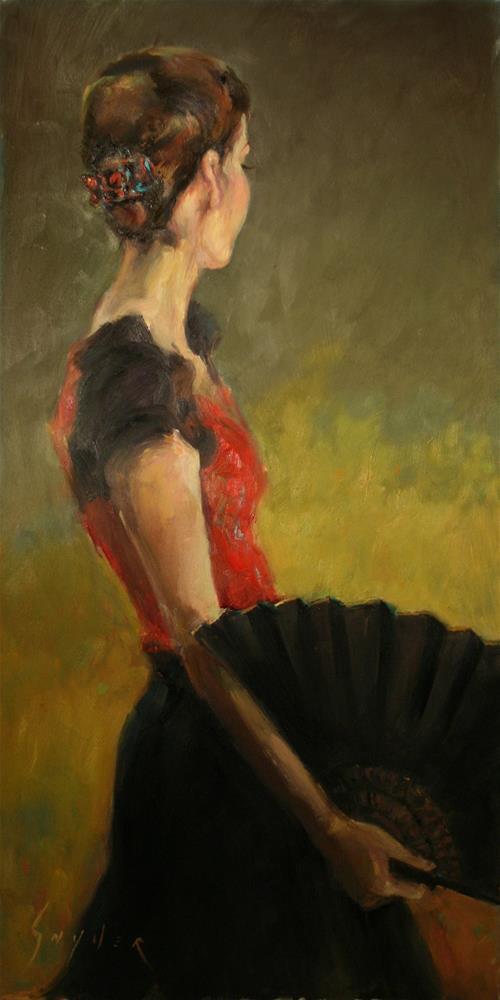 """Flamenco Nights"" original fine art by Julie Snyder"