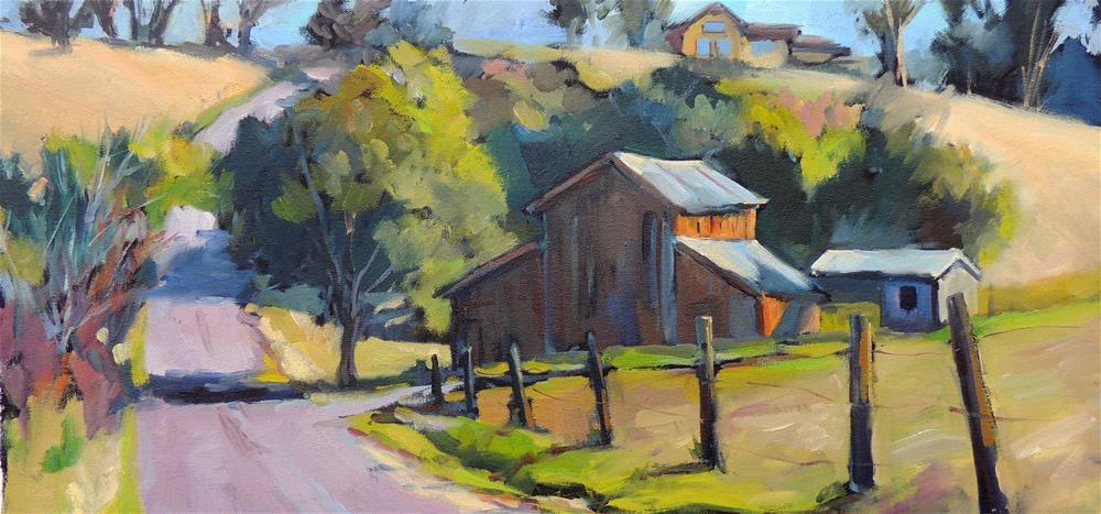 """Pepper Lane"" original fine art by Wendy Brayton"