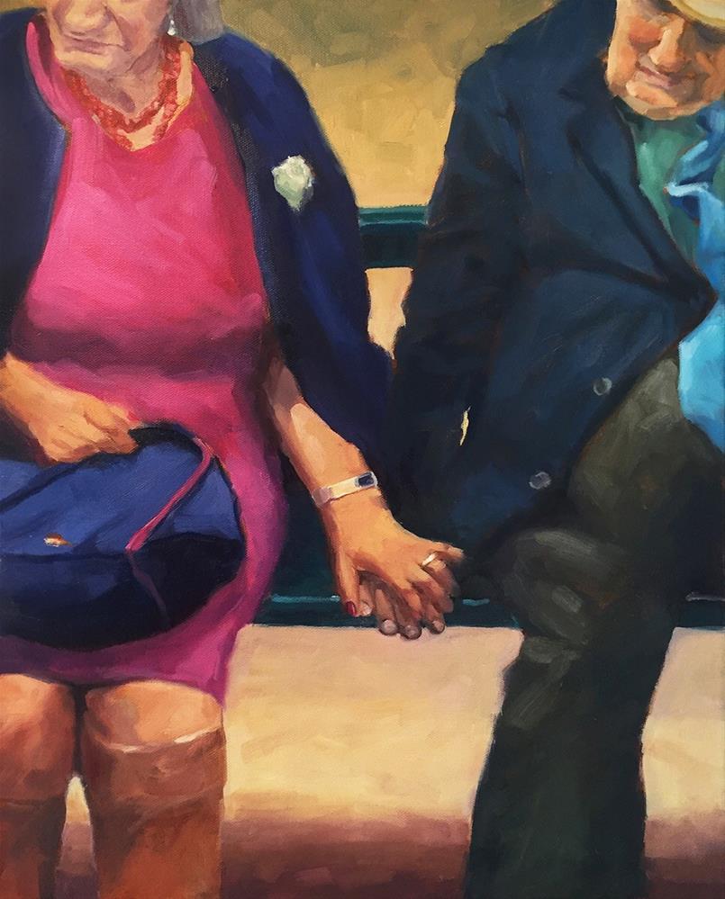 """""""Compañeros - España"""" original fine art by Lisa Sotero"""