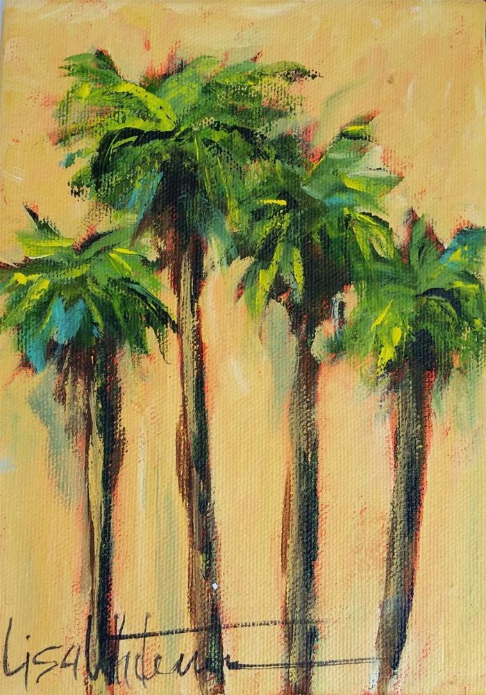"""83 - Naples Yellow"" original fine art by Lisa Rogers"