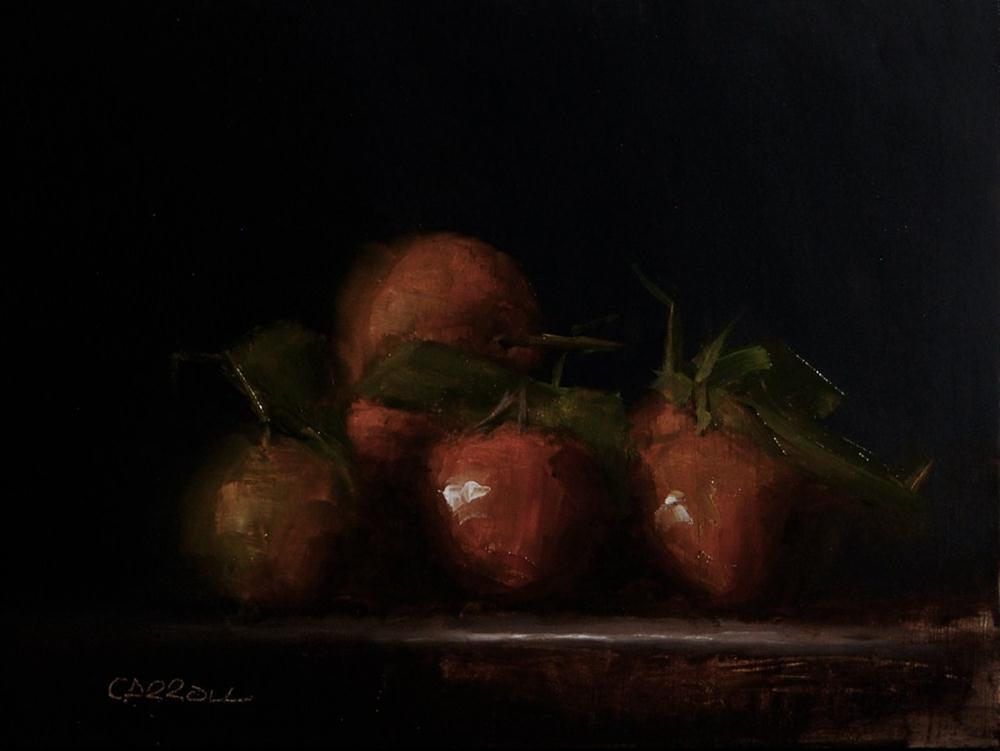 """""""Mandarins"""" original fine art by Neil Carroll"""