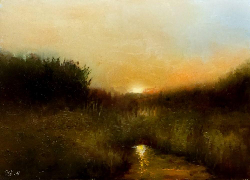 """Early Morning Sun"" original fine art by Bob Kimball"