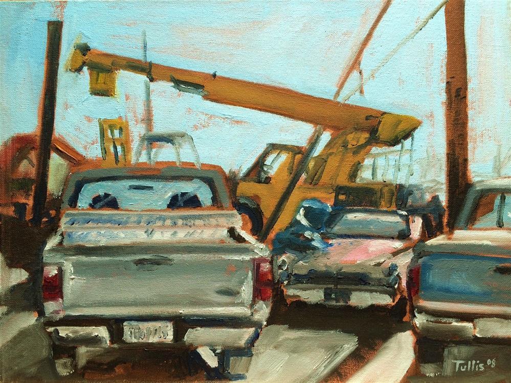 """Fast and Loose"" original fine art by John Tullis"