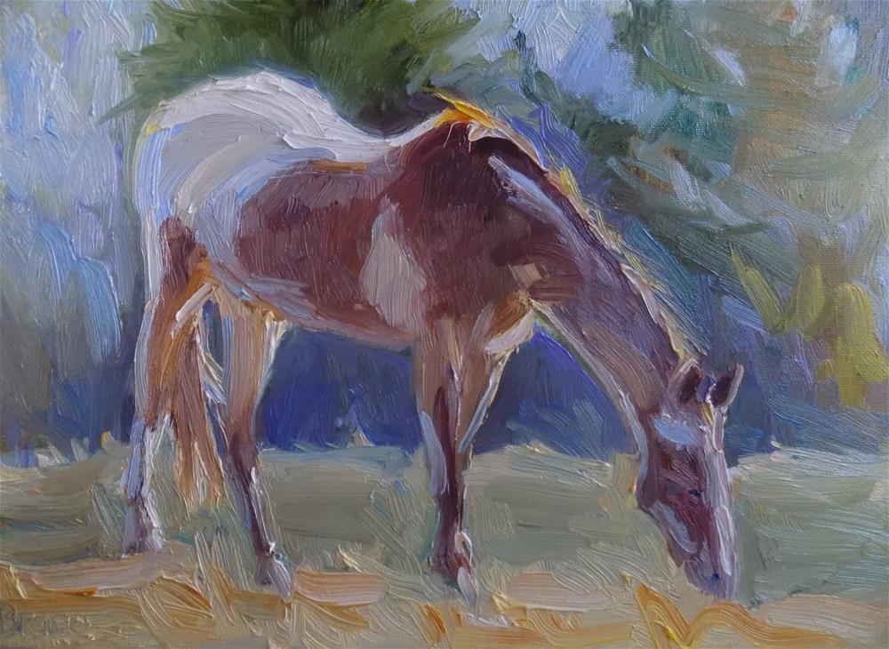 """""""A Painted Horse"""" original fine art by Rita Brace"""