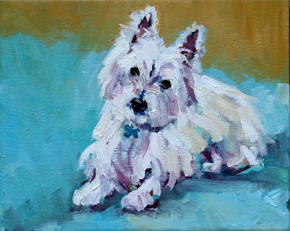 """putter"" original fine art by Carol Carmichael"