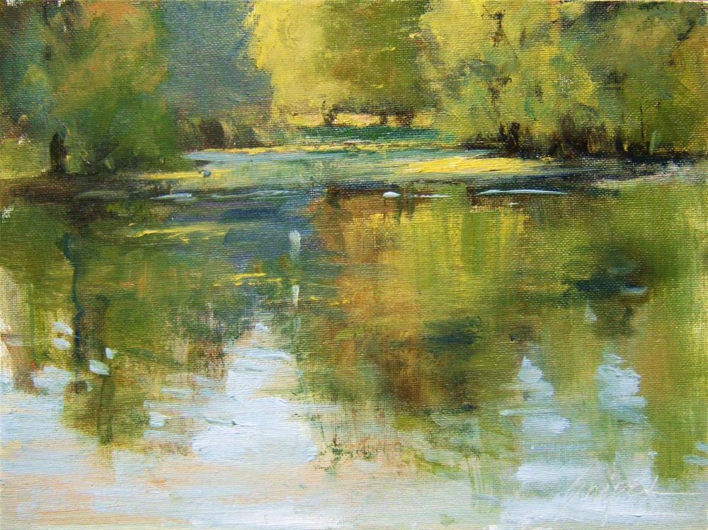 """Still Water"" original fine art by Connie Snipes"