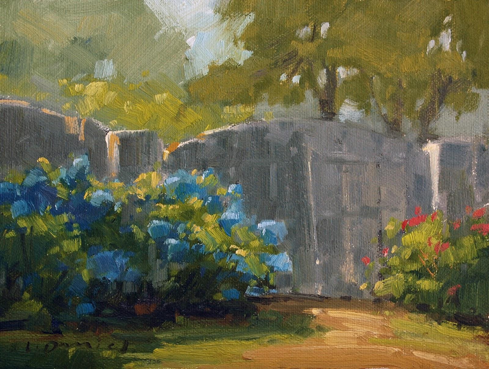 """""""Workshop Announcement - come paint with me!"""" original fine art by Laurel Daniel"""