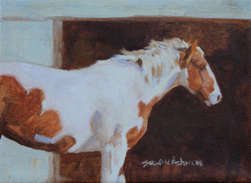 """Faithful"" original fine art by Susan Ashmore"