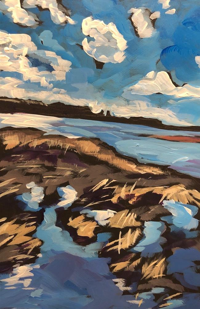 """Minnesota River Valley"" original fine art by Kat Corrigan"