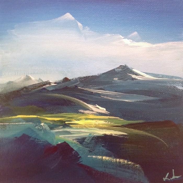 """Silent North"" original fine art by David Kuhn"