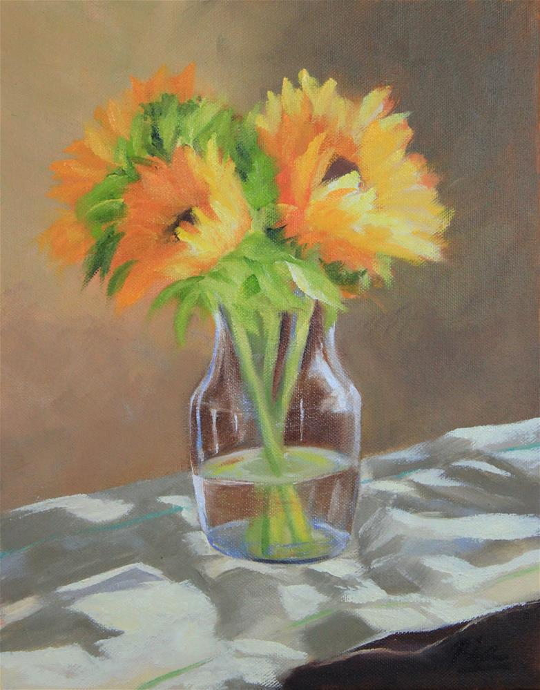 """""""Afternoon Light"""" original fine art by Maria Reed"""
