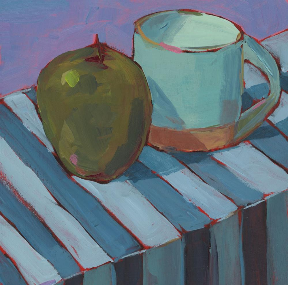"""1202: Morning Coffee"" original fine art by Brian Miller"
