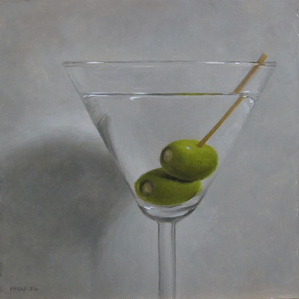 """Martini"" original fine art by Michael Naples"