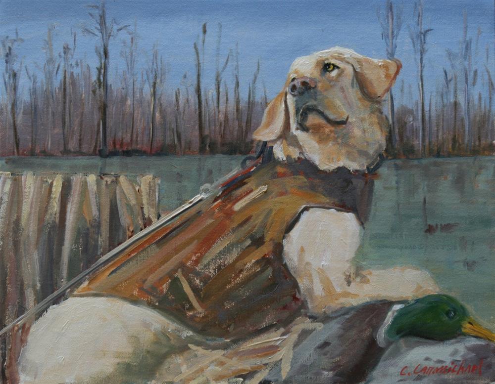 """""""jimmy"""" original fine art by Carol Carmichael"""
