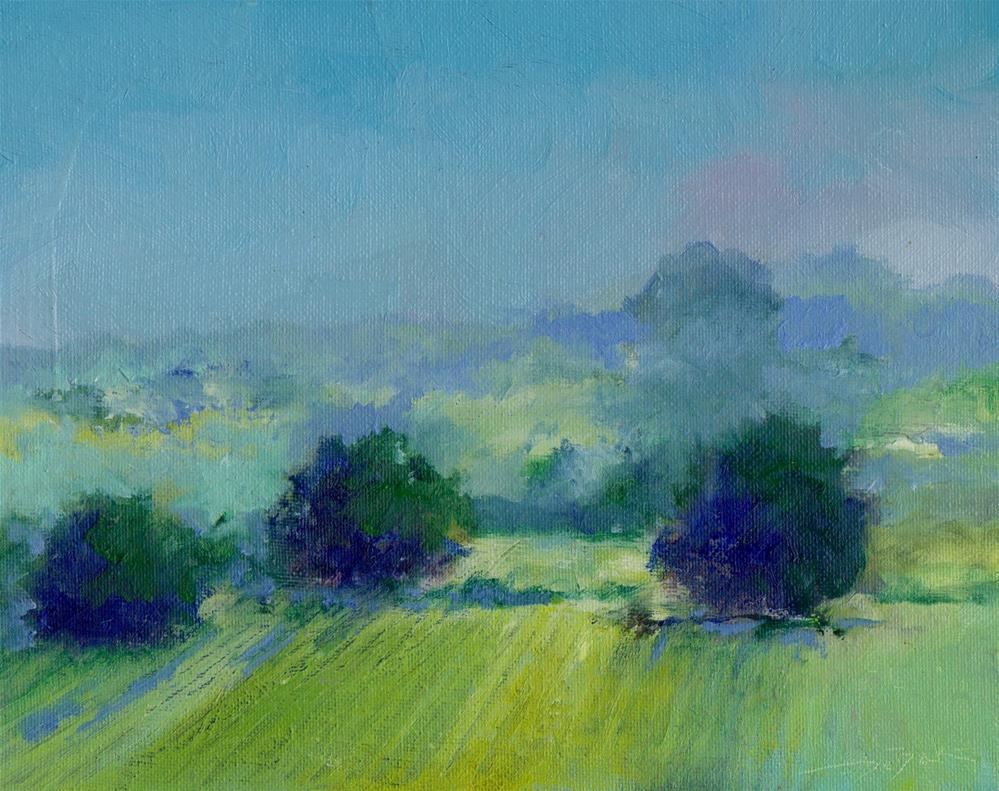 """early evening"" original fine art by Mark DeBak"