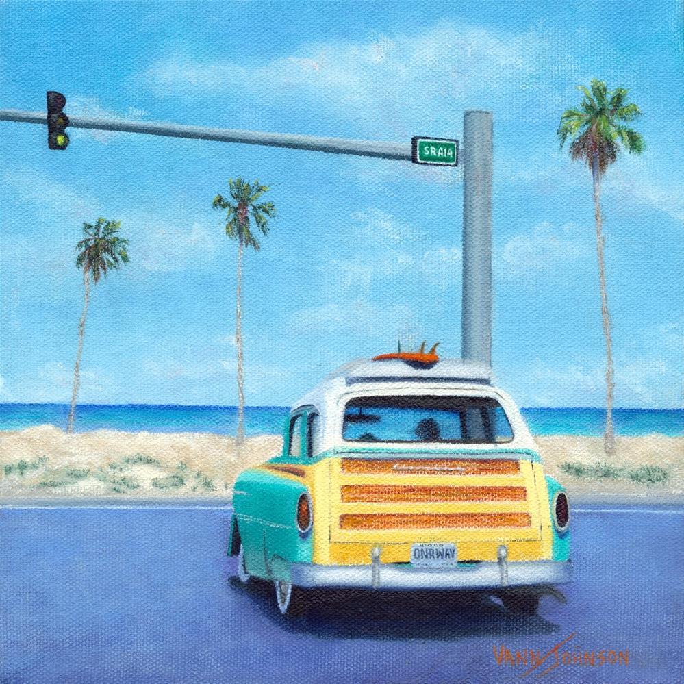 """""""On Our Way"""" original fine art by Wendi Vann Johnson"""