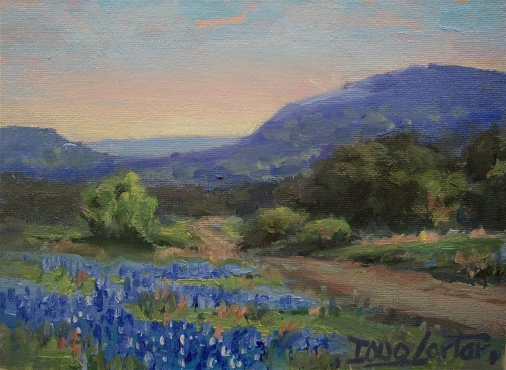 """""""Country Road"""" original fine art by Doug Carter"""