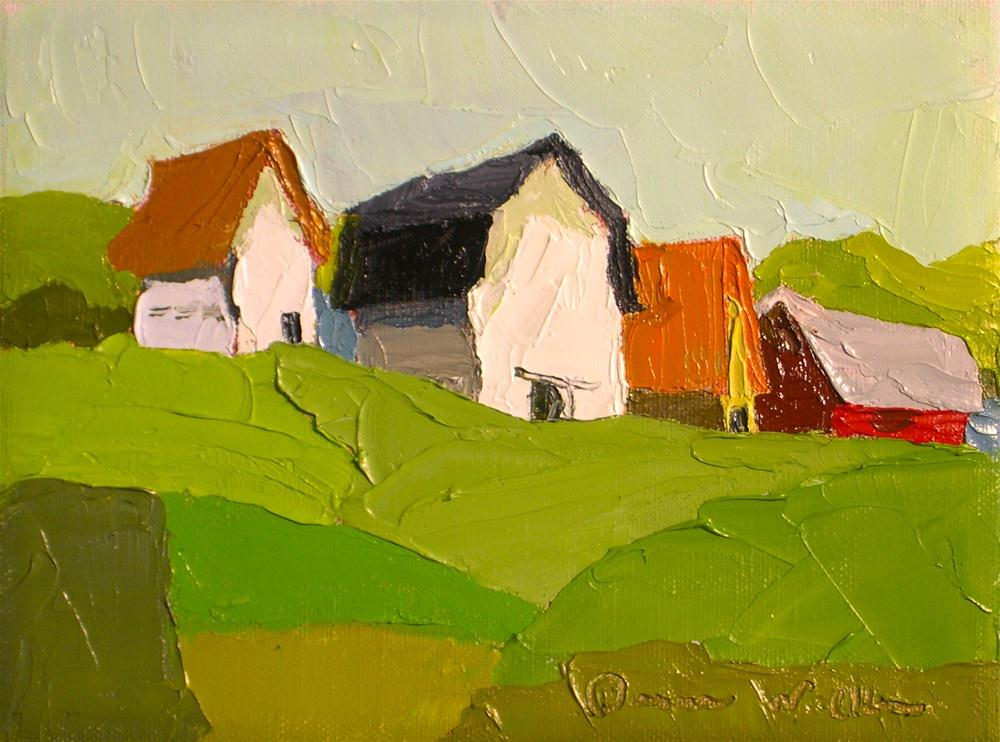 """Farmland Group"" original fine art by Donna Walker"