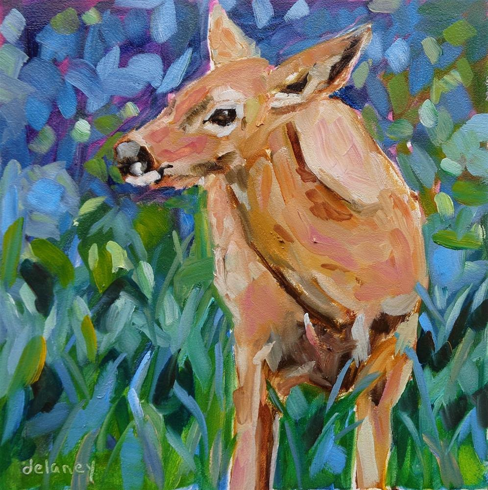 """""""LOOKING FOR LUNCH"""" original fine art by Jean Delaney"""