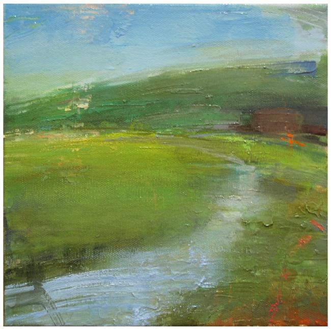 """Martha's Vineyard marsh study #2"" original fine art by Steven Goodman"