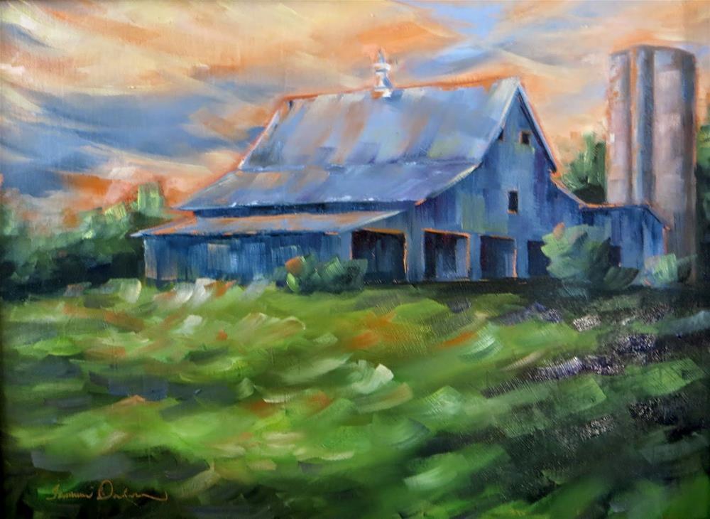 """Glory at Balducci"" original fine art by Tammie Dickerson"