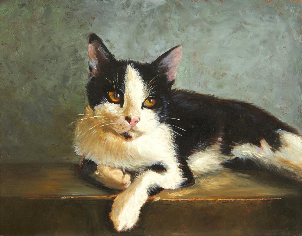 """""""Toby"""" original fine art by Lisa Wald"""