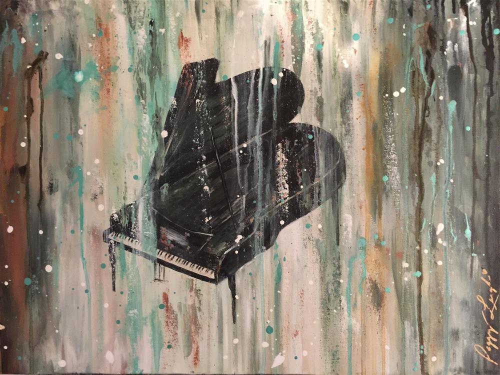 """Sir Jaz"" original fine art by Peggy Reeves"