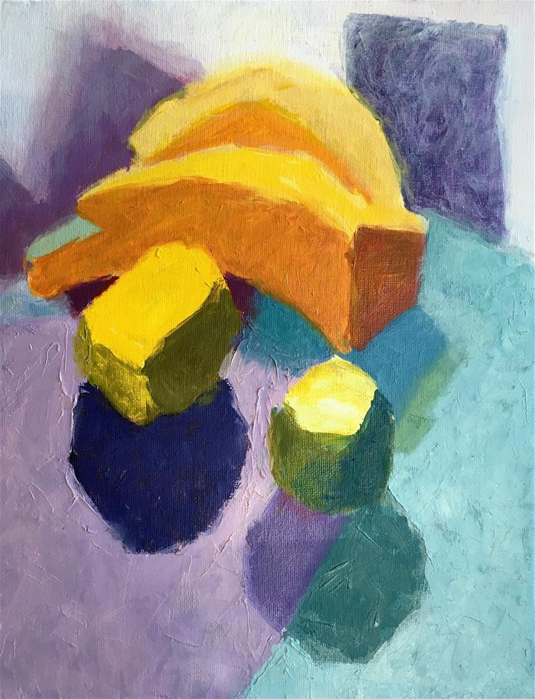 """Still Life with Fruit"" original fine art by Tracy Wise"
