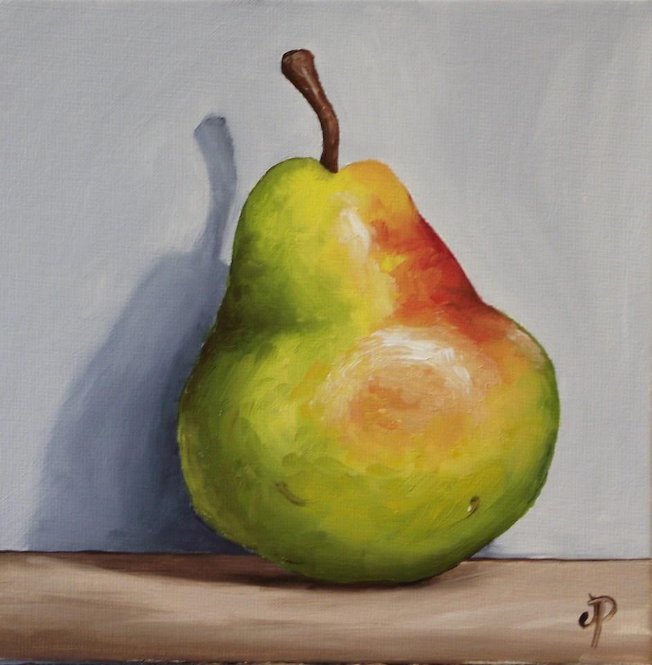 """Blush Williams Pear"" original fine art by Jane Palmer"