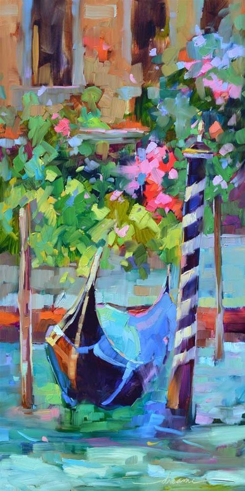 """The Magic of Venice"" original fine art by Dreama Tolle Perry"