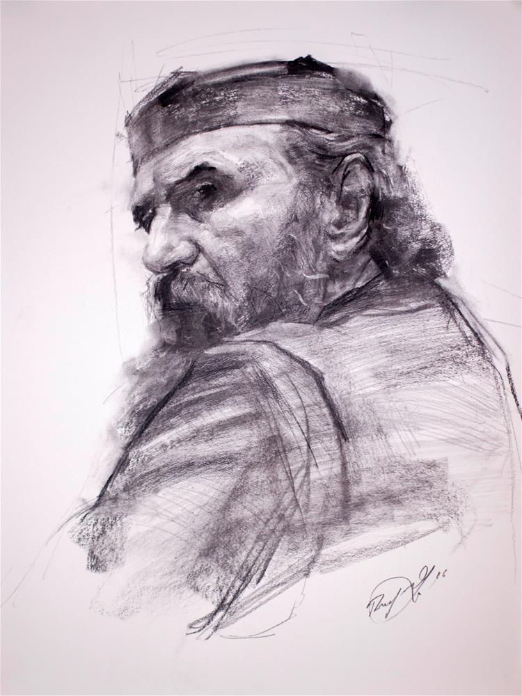 """The Priest"" original fine art by Dimitriy Gritsenko"