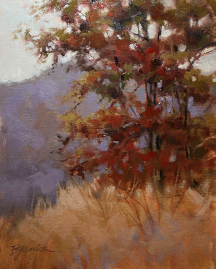"""The Lookout Spot"" original fine art by Barbara Jaenicke"