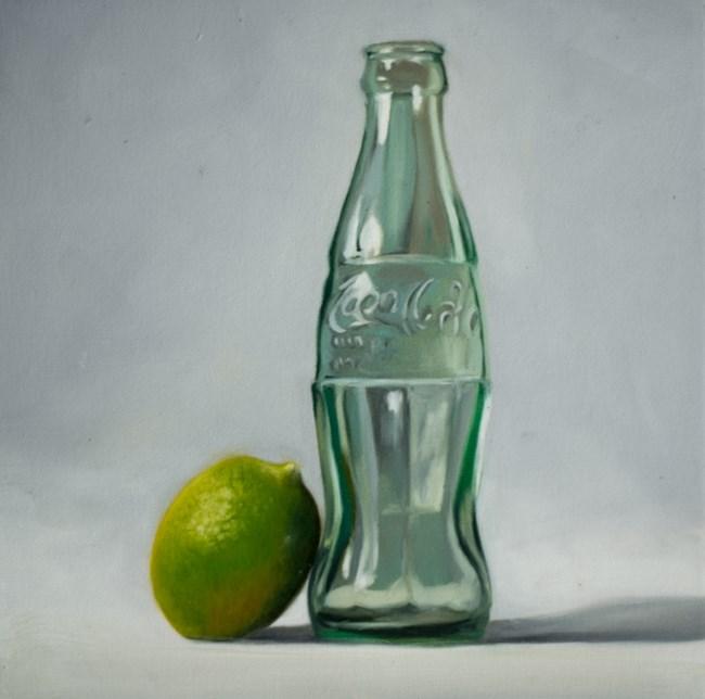 """Lime and Coke"" original fine art by Lauren Pretorius"