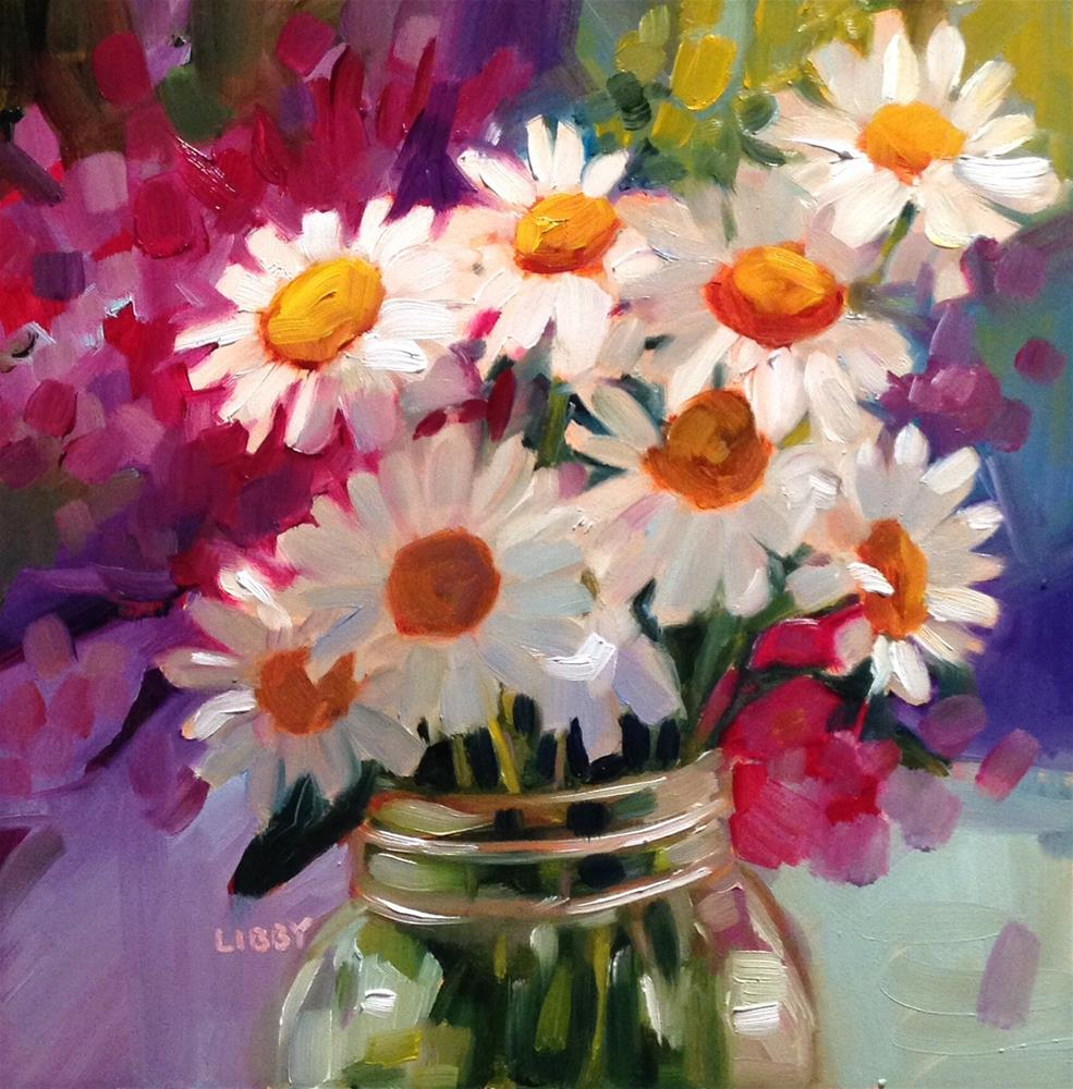 """Daisy, Daisy"" original fine art by Libby Anderson"