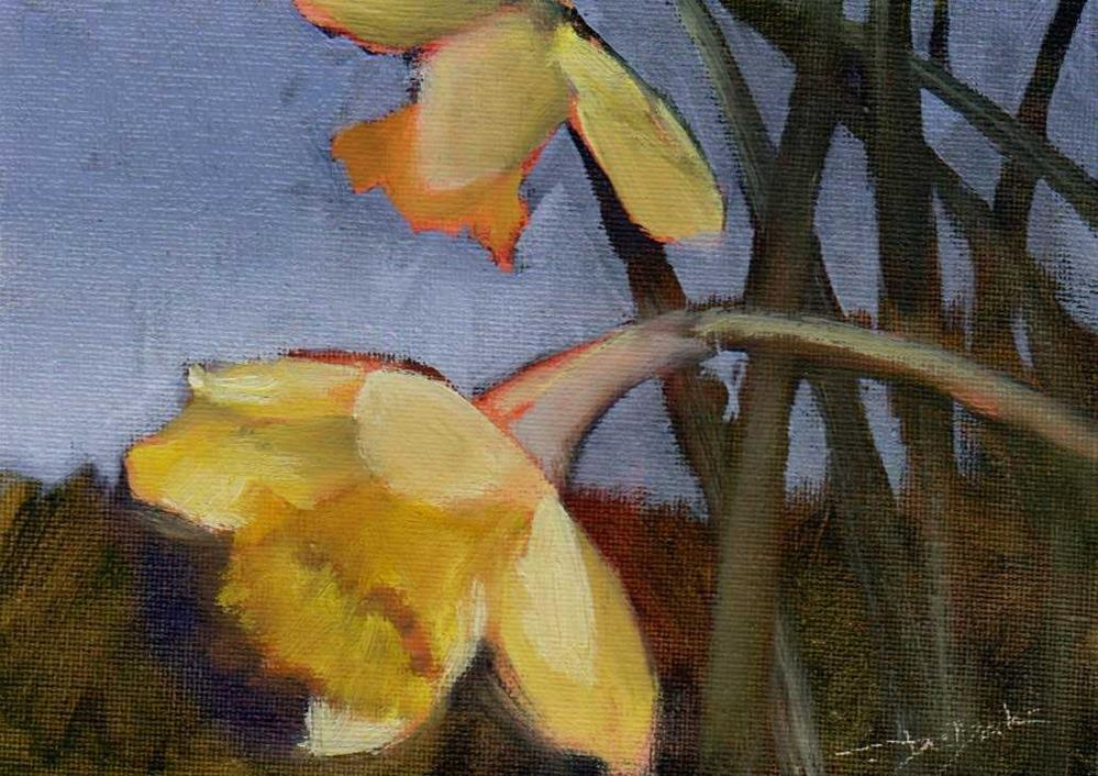 """spring"" original fine art by Mark DeBak"