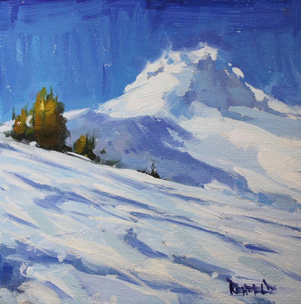 """Making Tracks"" original fine art by Cathleen Rehfeld"