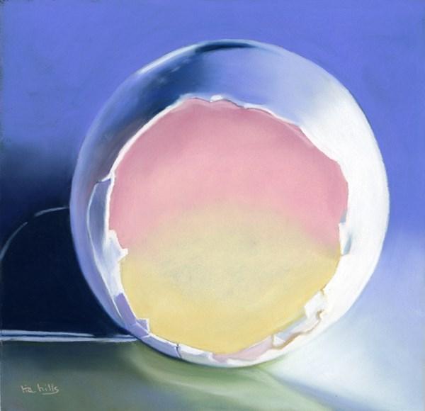 """Empty Eggshell #2"" original fine art by Ria Hills"